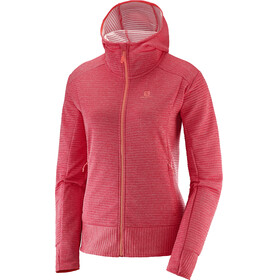 Salomon Right Nice Midlayer Women red